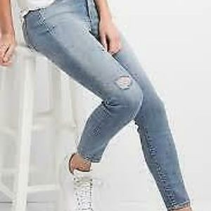 28 GAP Stretch True Skinny Ankle South End Jeans